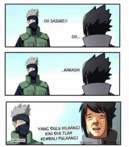 Babang tamvan meme sasuke