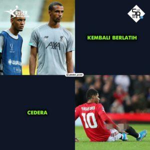 meme manchester united vs liverpool terbaru