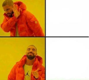 polosan meme drake