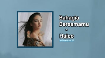 Download Lagu Bahagia Bersamamu Haico