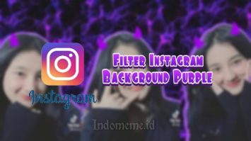 Filter IG Background Purple