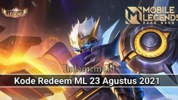 Kode Redeem ML 23 Agustus 2021
