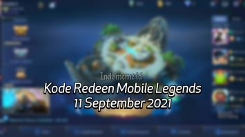 Kode Redeem ML 11 September 2021