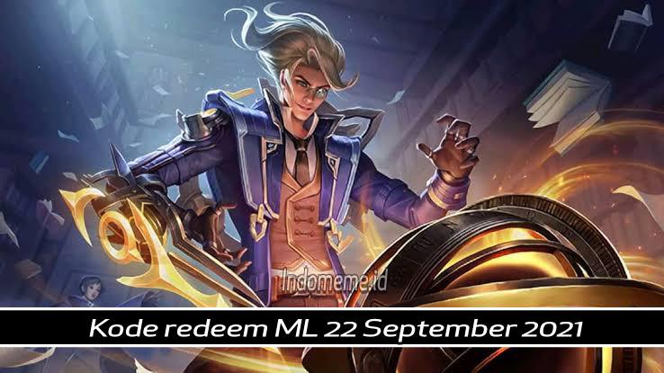 Kode Redeem ML 22 September 2021