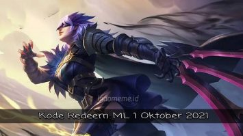 KodeRedeemML 1 Oktober 2021