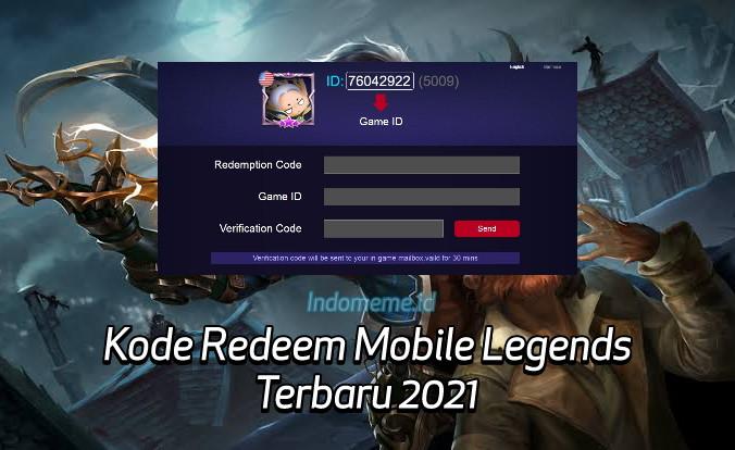 KodeRedeemML 3 Oktober 2021