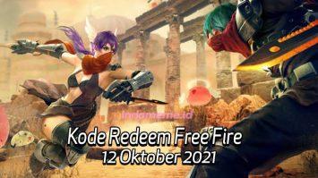 Kode RedeemFF 12 Oktober 2021