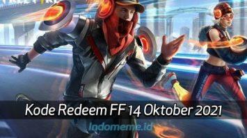 KodeRedeemFF 14 Oktober 2021