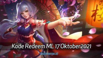 KodeRedeemML 17 Oktober 2021