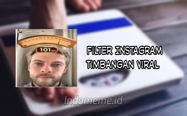 Filter Timbangan Berat Badan Instagram